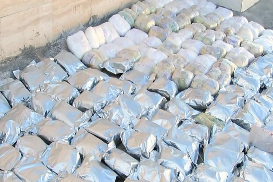 کشف حدود ۱۲ تن انواع مواد مخدر در شهریار