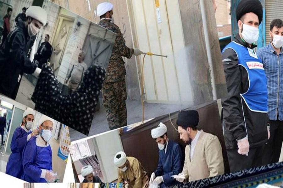 تصویر فعالیت۶۰ گروه جهادی طلاب در زنجان