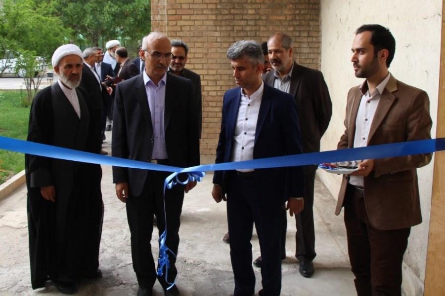 افتتاح پروژه های عمرانی وزارت علوم در ایلام