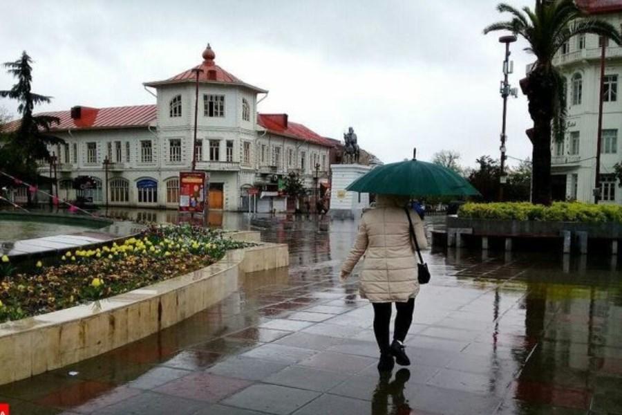 رگبار باران و رعد و برق در ۱۴ استان