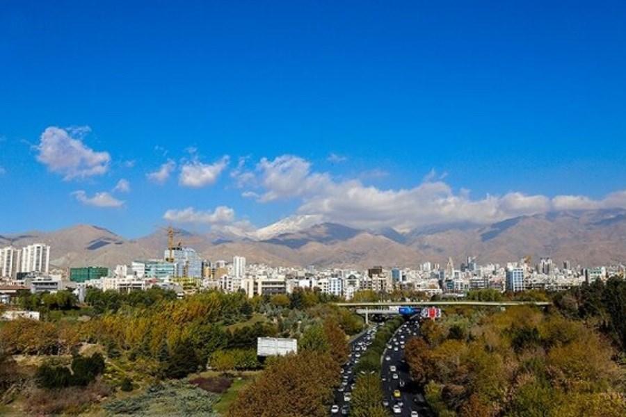 کیفیت قابل قبول هوای پایتخت