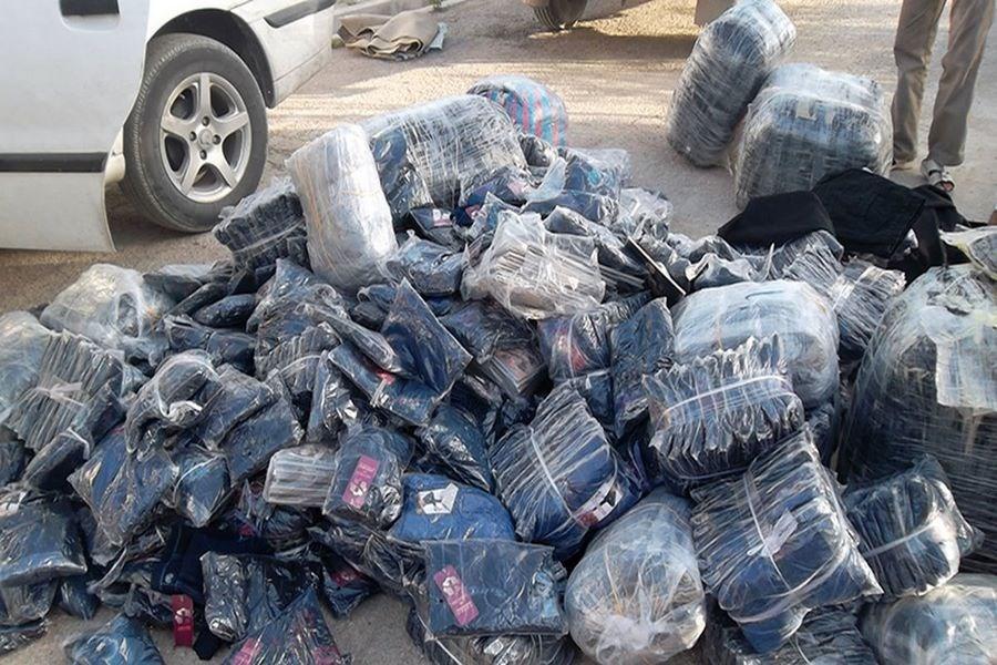 قاچاقچی پوشاک 1.5 میلیارد ریال جریمه شد