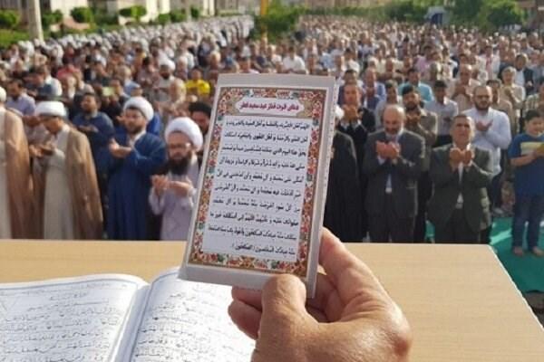 برگزاری نماز عید فطر در همدان