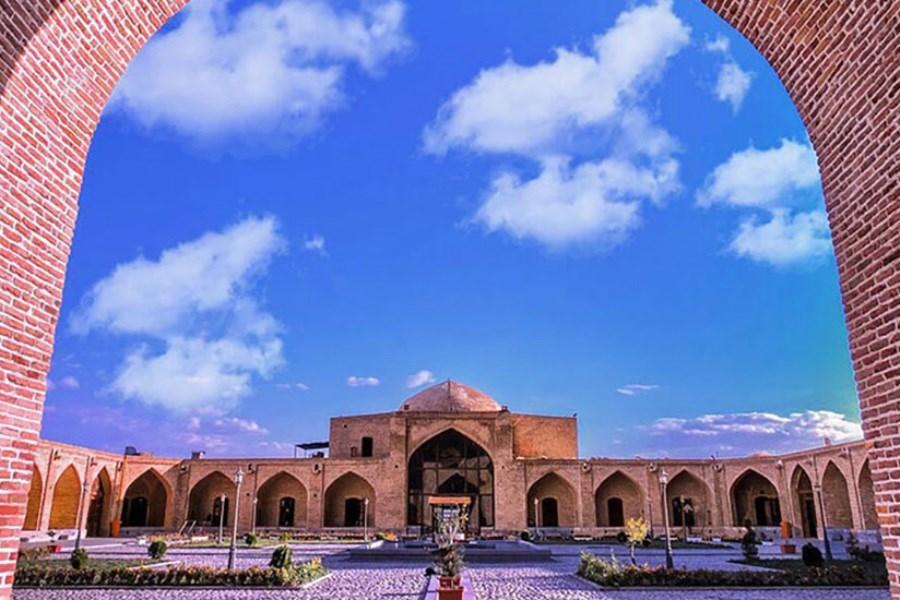  کاروانسرای شاه عباسی ماهیدشت کرمانشاه سرمایه ای در حال نابودی