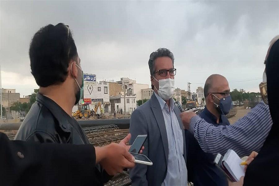 بازدید از پروژه های عمرانی شهرداری اراک
