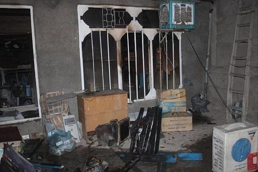 آتش سوزی یک خانه در لارستان ۲ قربانی گرفت