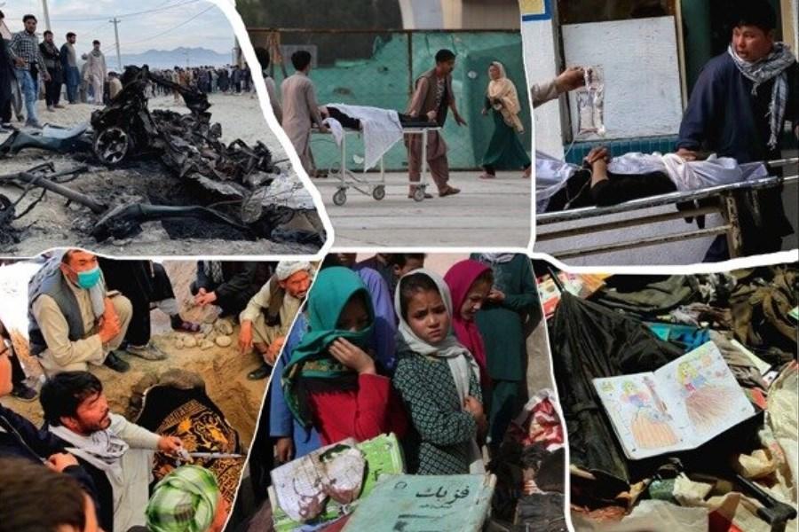برپایی یادمان قربانیان مکتب سید الشهدای افغانستان درگذر سعدی اصفهان