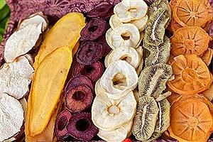 تصویر  مضرات استفاده از میوههای خشک شده