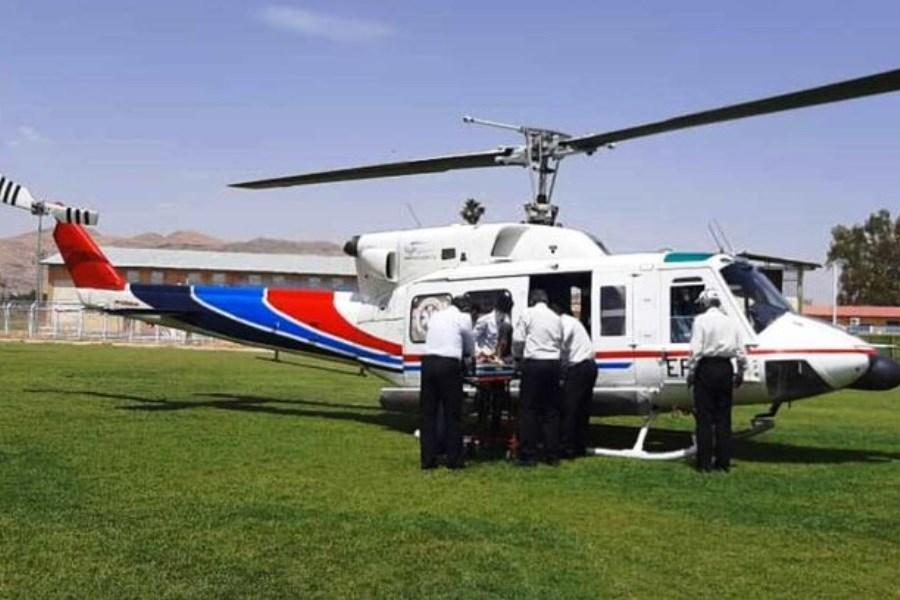 اعزام هوایی همزمان 3 بیمار از ایذه به اهواز