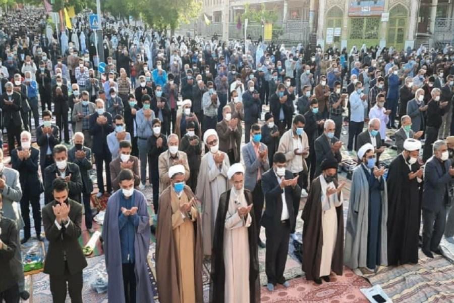 تصویر نماز عید فطر در سراسر کشور اقامه شد + تصاویر