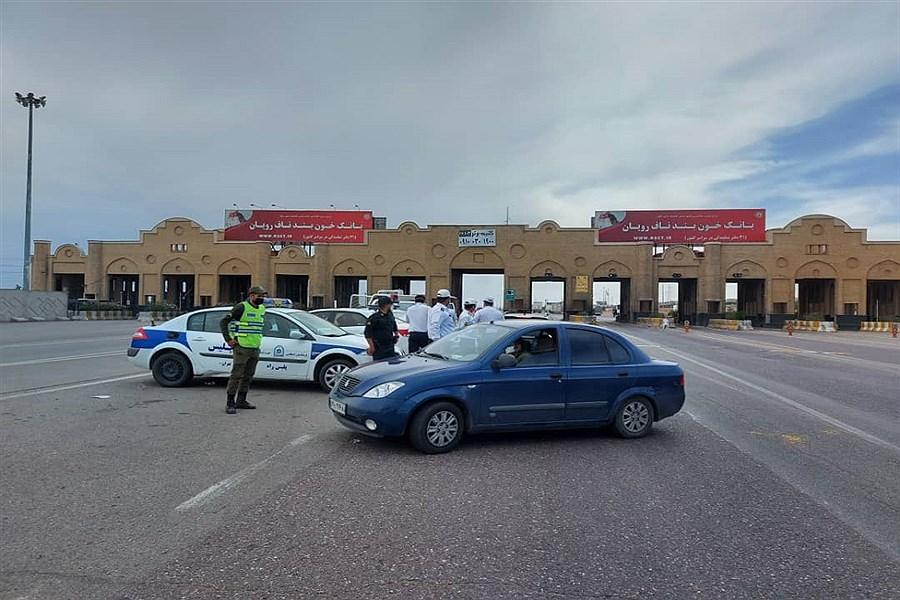 تصویر اجرای جدی قانون ممنوعیت تردد توسط پلیس راهور