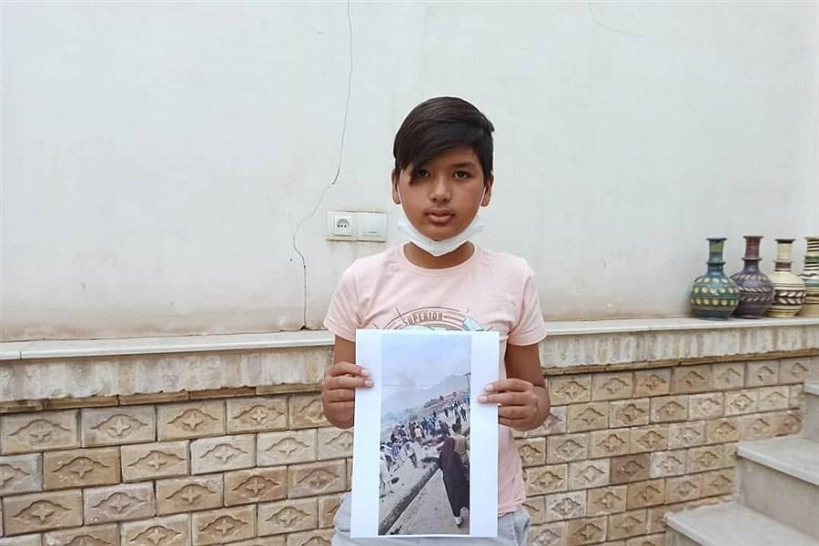 آیین همدردی فرازان هنر با کودکان افغانستان/به روایت تصویر
