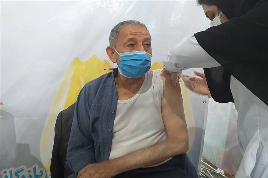 واکسیناسیون سالمندان بالای 75 سال