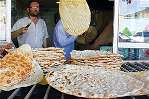 تصویر  افزایش چراغ خاموش قیمت نان