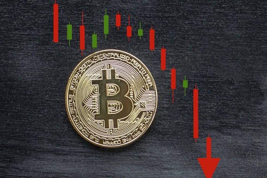 احتمال سقوط قیمت بیت کوین تا 12 الی15 هزار دلار در صورت خرسی شدن بازار