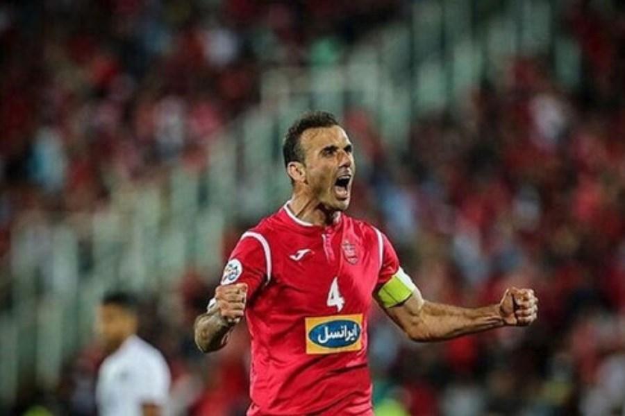تصویر رکورد جدید سیدجلال در لیگ برتر