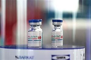 تصویر  ورود یک میلیون دوز واکسن توسط جمعیت هلال احمر