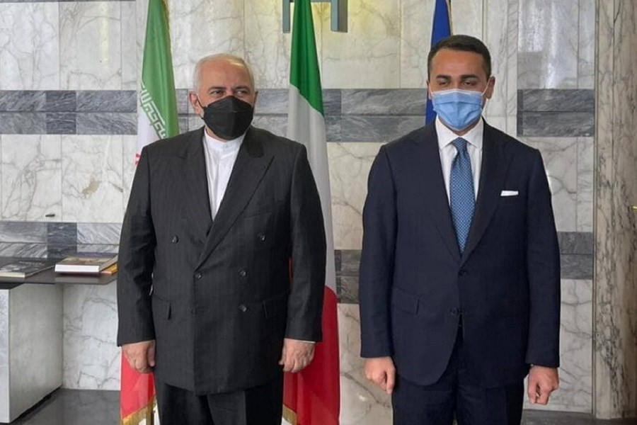 ظریف با وزیر خارجه ایتالیا دیدار کرد