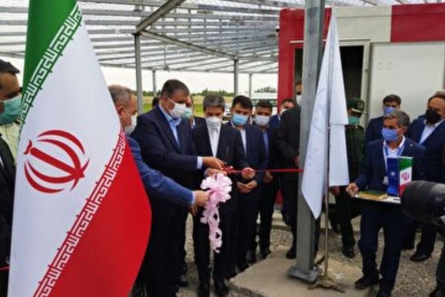 سامانه کمک ناوبری فرودگاه بین المللی ارومیه توسط وزیر راه و شهرسازی ارومیه افتتاح شد
