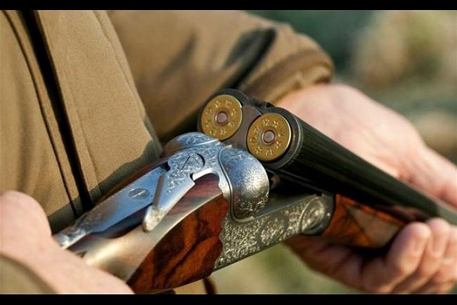 درگیری با اسلحه شکاری