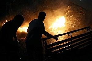 تصویر  انفجار وحشتناک این خانه ها را ویران کرد + فیلم