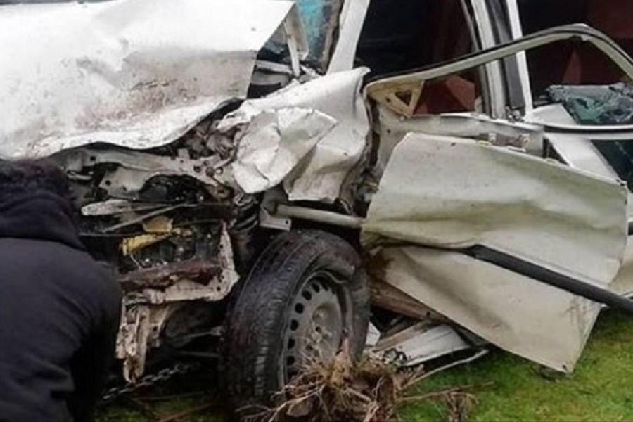 3 کشته در پی واژگونی خودرو پراید