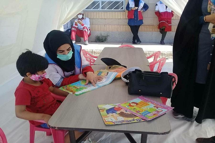 آموزش کمک های اولیه به زلزله زدگان