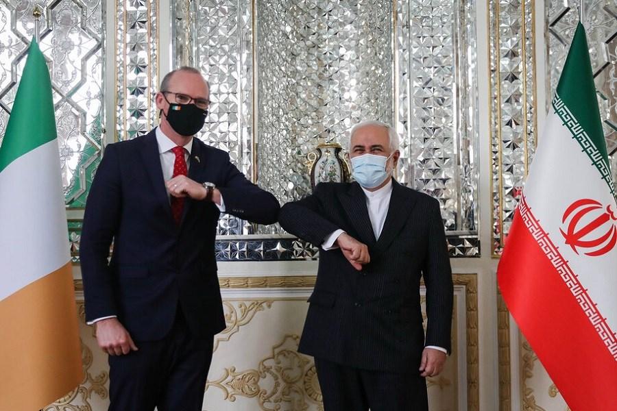 دیدار وزرای امور خارجه ایران و ایرلند