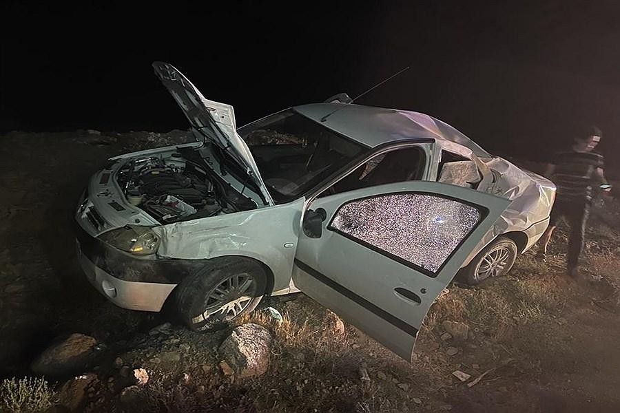 واژگونی ال ۹۰ در جاده های یزد  ۶ کشته و مصدوم برجای گذاشت