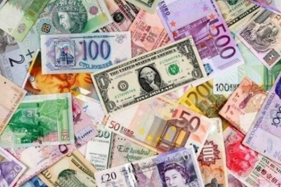 بهای 25 ارز بین بانکی ریزش کرد
