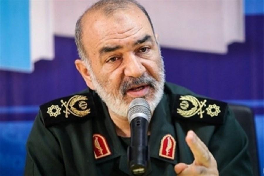 سپاه تا فروپاشی رژیم صهیونیستی با ملت فلسطین همگام خواهد بود