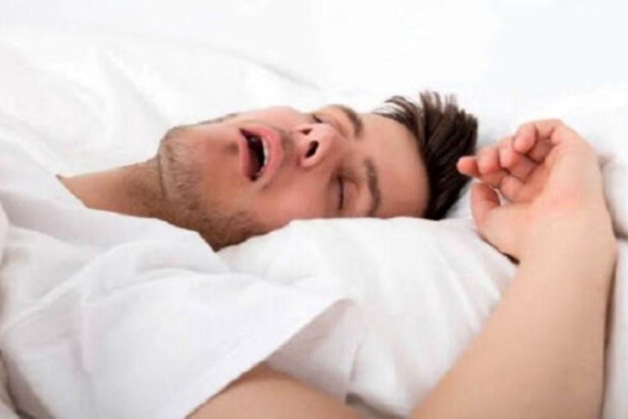 علت خرخر شبانه در خواب