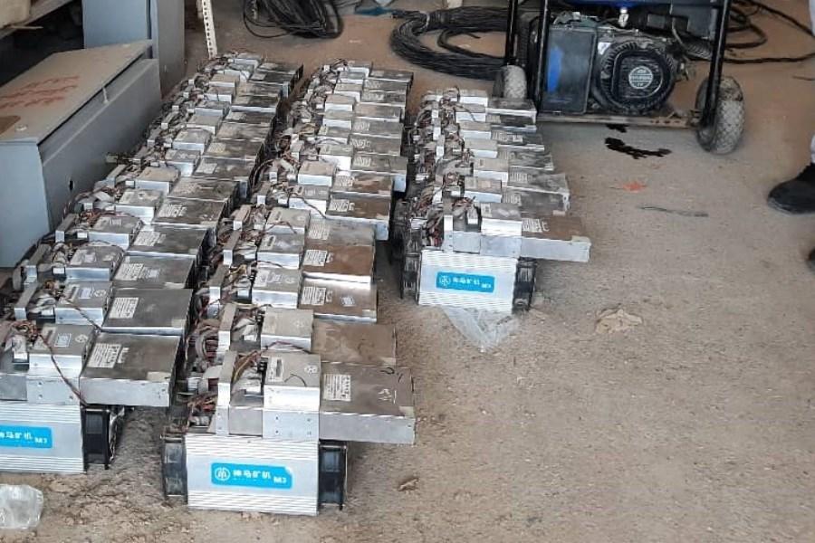 کشف ۸۸ دستگاه استخراج ارز دیجیتال در شهرستان اهواز