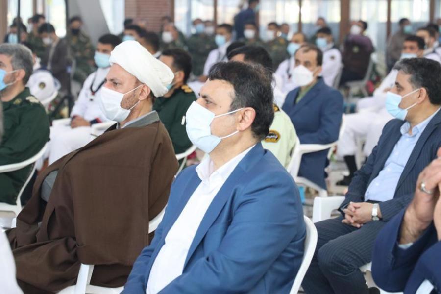 مراسم گرامیداشت سوم خرداد در گلزار شهدای رشت برگزار شد+ عکس
