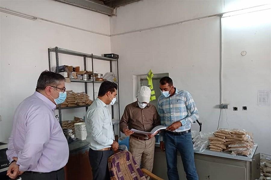 بازدید مدیرعامل سازمان مرکزی تعاون روستایی از مراکز خرید گندم حاجی آباد