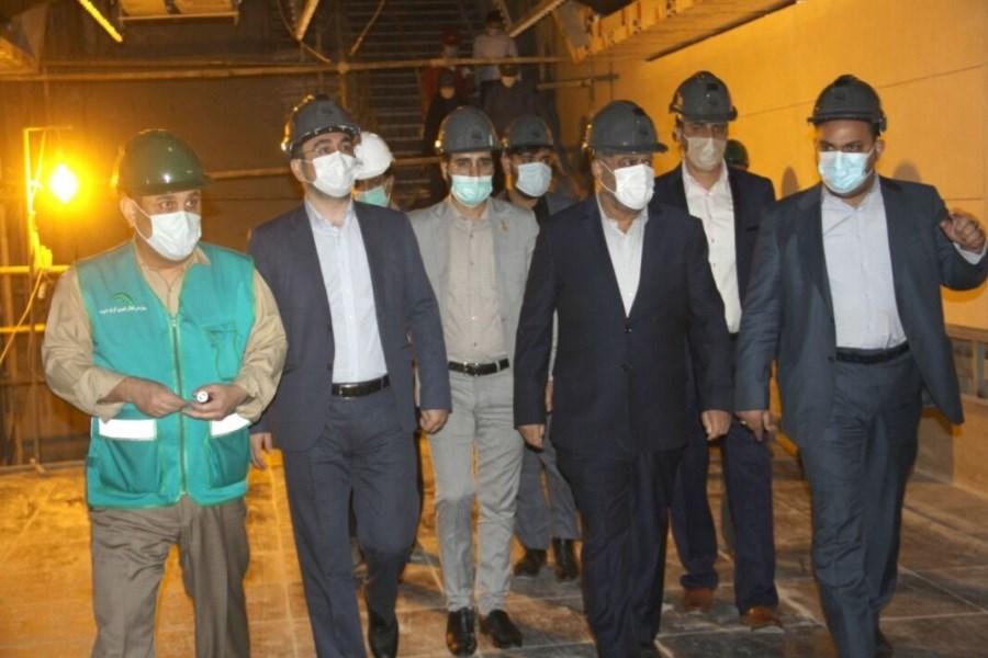 قطار شهری کرج در شرف افتتاح