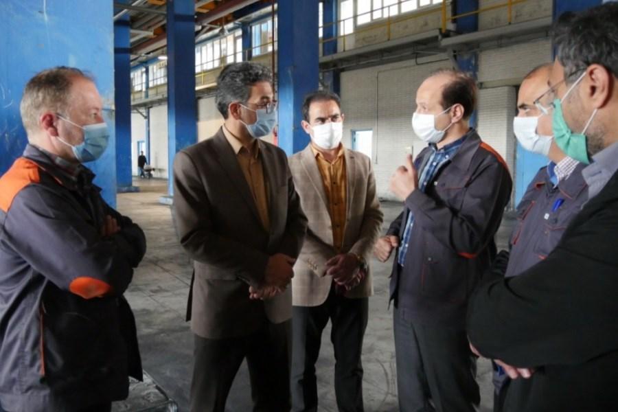 بازدید مدیر کل استاندارد اردبیل از کارخانه لاستیک آرتاویل تایر