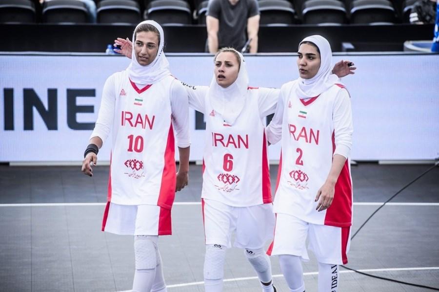 شکست تیم ملی بسکتبال سه نفره در انتخابی المپیک