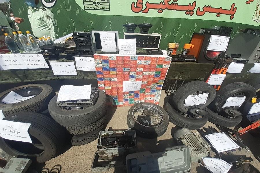 دستگیری سارقان تجهیزات کلینیک چشم پزشکی / کشف 20 دستگاه خودروی مسروقه