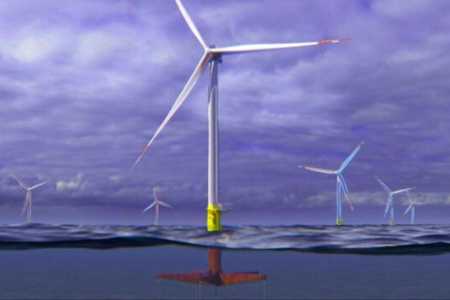 رونمایی از مفهوم جدید توربین بادی شناور