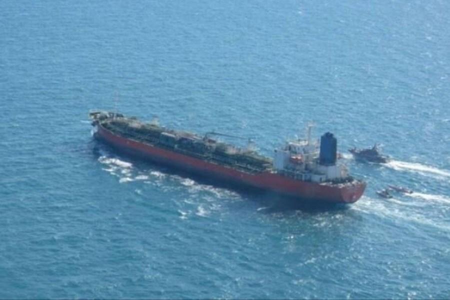 نفتکش ایرانی رفع توقیف شد