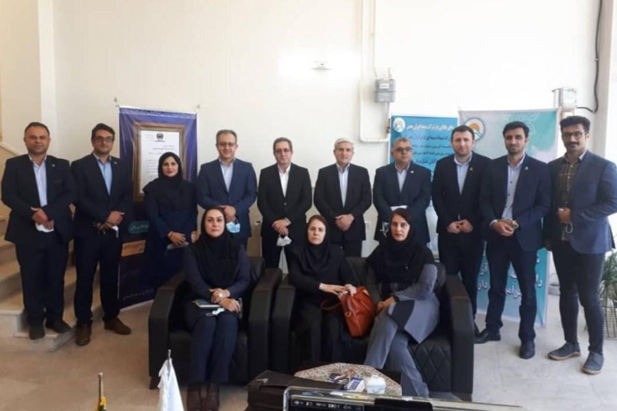 بازدید مدیرعامل بیمه ایران معین از شعبه انزلی