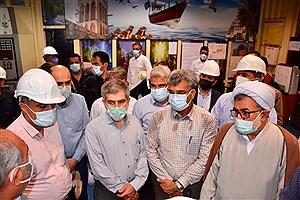 تصویر  بازدید اعضای کمیسیون انرژی مجلس از نیروگاه های بندرعباس و هنگام