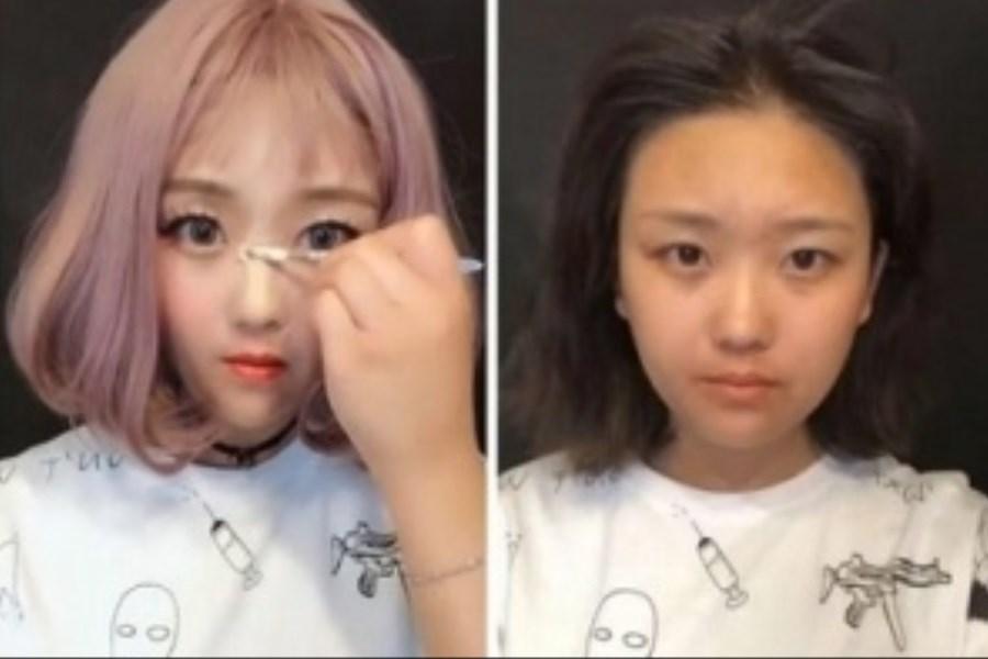 کلاهبرداری دختران چینی با ماسک های جذاب!+ عکس