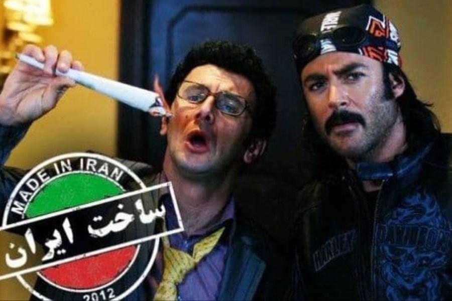"""امین حیایی و محمدرضا گلزار در فصل سوم """"ساخت ایران"""""""