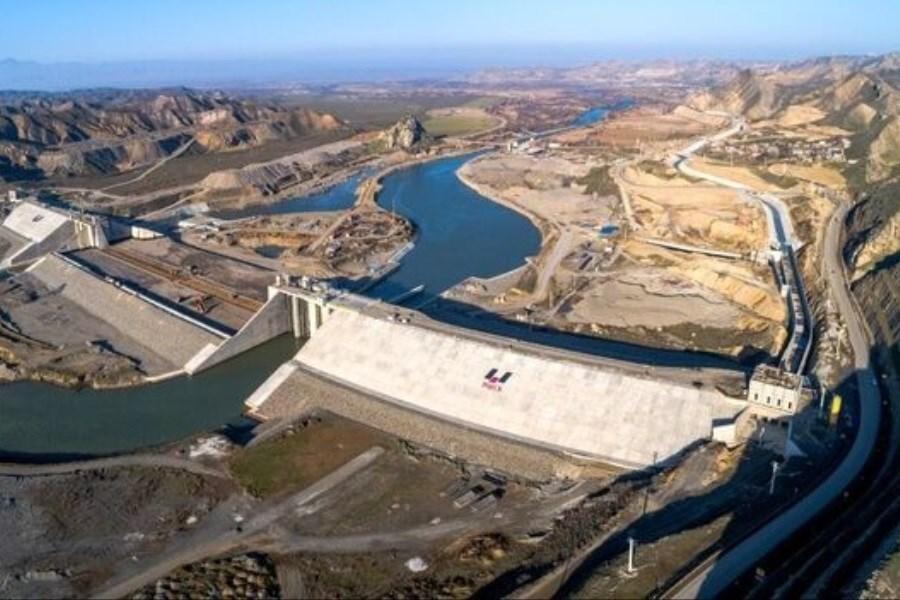 افتتاح سد قیزقلعه سی در آذربایجان شرقی