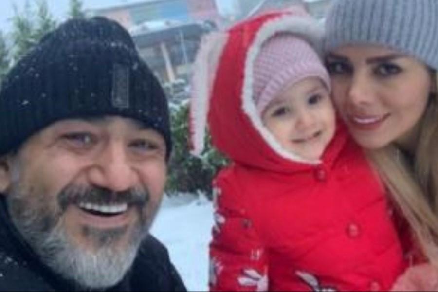 جشن تولد 34 سالگی همسر مهران غفوریان