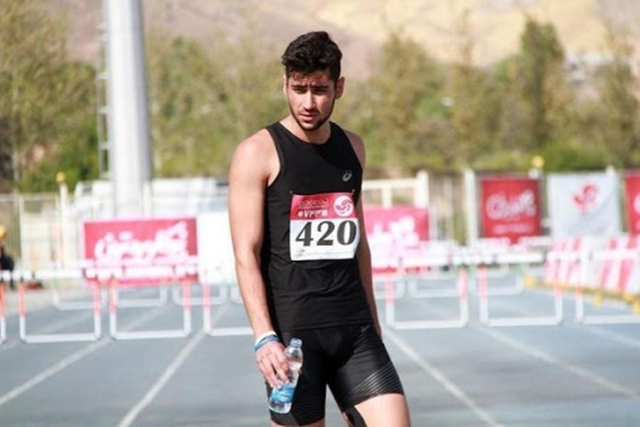 بدشانسی و ناکامی دونده شایسته ایرانی در دایموند لیگ