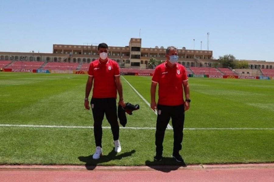 اسکوچیچ از ورزشگاه شیخ محمد آل خلیفه دیدن کرد
