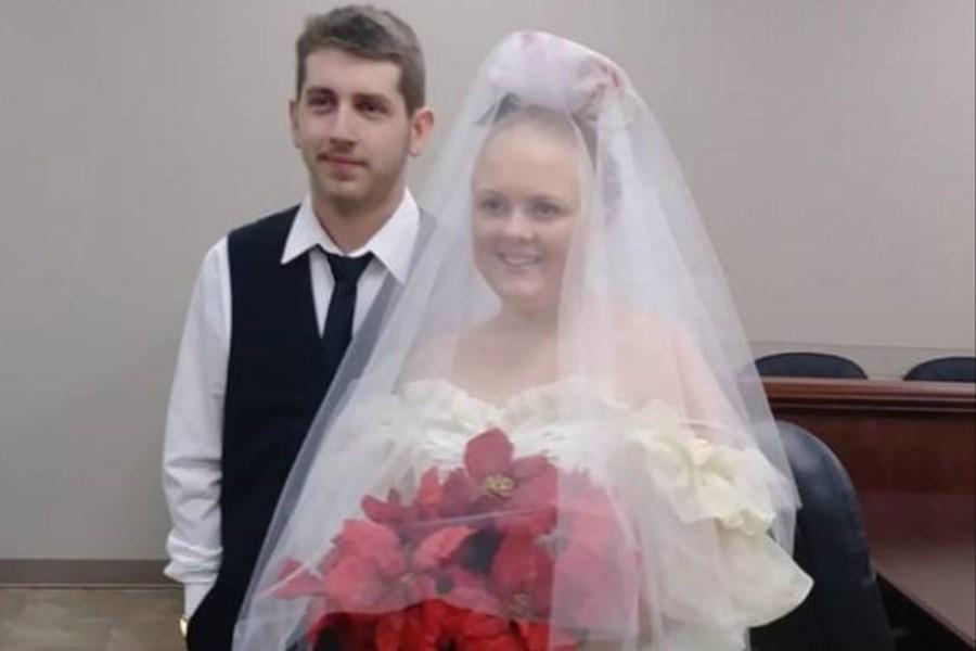 مرگ تلخ عروس و داماد 5 دقیقه بعد از عروسی!